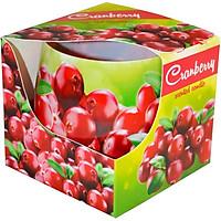 Ly nến thơm tinh dầu Admit Cranberry 100g QT04535 - nam việt quất