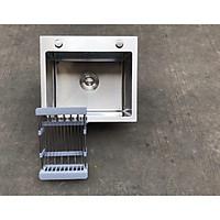 Chậu rửa chén bát Inox 304 đúc nguyên khối C103 - 450 x 400 x 240