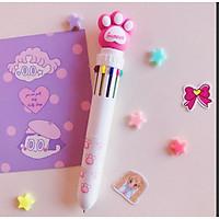 Bút bi nhiều màu kiểu dáng dễ thương