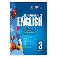 Sách Learning English 3 ( 8 - 9  tuổi )
