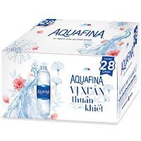 [Chỉ Giao HCM] - Big C - Thùng 28 nước tinh khiết Aquafina 500ml - 63398