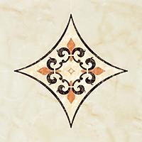 Bộ 18 Miếng Decal Chống Thấm Nước, Chống Xước Hoa Văn Gạch Bông Nghệ Thuật 11x11cm Cao Cấp