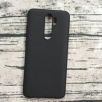 Ốp Lưng Dẻo Cho Xiaomi Redmi Note 8 Pro (Đen) chống bám bẩn, chống bám vân tay - Hàng nhập khẩu
