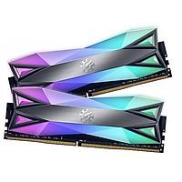 Ram máy tính Desktop ADATA DDR4 XPG SPECTRIX D60-LED 16GB (2*8G) 3600MHz TUNGSTEN GREY RGB - Hàng Chính Hãng