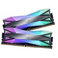 Ram máy tính Desktop ADATA DDR4 XPG SPECTRIX D60-LED 16GB (2*8G) 4133MHz TUNGSTEN GREY RGB - Hàng Chính Hãng