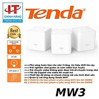 Router Wifi Mesh Chuẩn AC1200 Tenda Nova MW3 - 3 Pack - Hàng Chính Hãng
