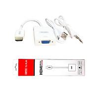 Cáp HDMI To VGA UNITEK Có Audio - Hàng Nhập Khẩu