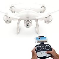 Máy Bay Camera Flycam SJRC S70W Trắng- Hàng chính hãng