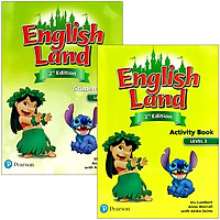 English Land (2nd Edition) Level 3: Student Book + Activity Book With CDs