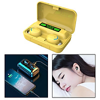 Bluetooth 5.0 Wireless LED Earbuds with Wireless Charging Case Waterproof TWS Stereo Headphones in Ear Built in Mic Headset