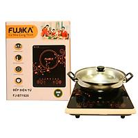 Bếp điện từ, bếp từ đơn 2000W Fujika - tặng kèm nồi lẩu inox-hàng chính hãng
