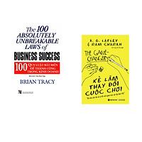 Combo 2 cuốn sách: 100 Qui Luật Bất Biến Để Thành Công Trong Kinh Doanh + Kẻ làm thay đổi cuộc chơi