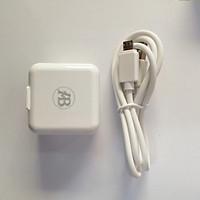 Sạc bộ ABBIG K02 cổng sạc Micro USB- Hàng Chính Hãng