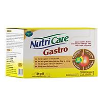Hộp sữa pha sẵn Nutricare Gastro dinh dưỡng y học cho người viêm dạ dày, rối loạn tiêu hoá (10 gói x 50g)
