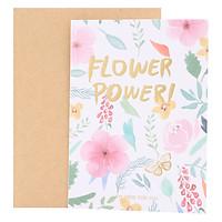 Thiệp Hoa Flower Power (15 x 11 cm)