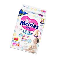 Tã/bỉm dán Merries size M - 64 + 4 miếng (Cho bé 6 - 11kg)