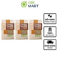 Combo 5 Gạo Hữu Cơ Ecoba Kim Mễ - Ecoba Organic Brown Rice 1kg
