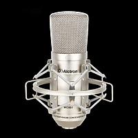 Microphone Thu Âm Condenser Alctron MC001 (Bạc) - Hàng Chính Hãng