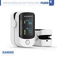 Máy đo nồng độ oxy trong máu KANEKO FS20D,máy đo nồng độ SPO2,máy đo oxy kẹp tay kẹp tai kẹp chân,máy đo khí oxy có màn hình hiển thị rõ ràng,máy đo nhịp tim
