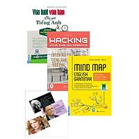 Combo Sách Hack Não Môn Tiếng Anh 1 (Vừa Lười Vừa Bận Vẫn Giỏi Tiếng Anh+Hacking Speaking English+Mind Map English Grammar)Tặng Kèm 3 Postcard Những Câu Nói Của Người Nổi Tiếng