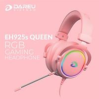 Tai Nghe Gaming EH925s Pink RGB - Hàng Chính Hãng