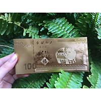 Tiền Macao Lưu Niệm Mạ Vàng Plastic Hình Con Heo Tuổi Hợi [Tiền Lưu Niệm May Mắn]