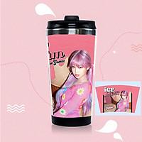 Bình nước BP Lisa Jisoo Jennie Rose mẫu mới Ice cream