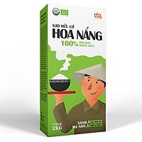 Gạo Hữu Cơ Hoa Nắng - Xanh Mạ Non 2kg