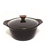 Nồi Ceramic cao cấp Living On 20cm xuất xứ Hàn Quốc - Dùng được bếp từ