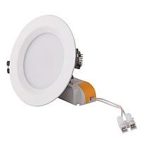 Bộ đèn led âm trần lỗ 90mm /7W Rạng Đông mã D AT04L 90/7w-Ánh sáng trắng