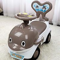Xe chòi chân kiêm bám tập đi cho bé có đèn nhạc và khoang đựng đồ HT-5527 Toys House, nhựa ABS an toàn - tặng đồ chơi tắm màu ngẫu nhiên