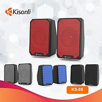 Loa 2.0 Kisonli KS-05 - màu ngẫu nhiên - hàng nhập khẩu