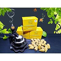 Nhang Trầm Hương Nụ Búp Sen Loại Cao Cấp Đặc Biệt  - Mùi thơm dịu ngọt - hộp 20 viên