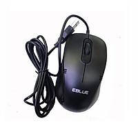 Chuột máy tính có dây E-Blue EMS645BK USB - Hàng chính hãng