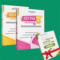 Sách - Combo Đột phá 8+(Phiên bản 2020) môn Tiếng anh tập 1 và Ngữ Văn (Tặng ngay 1 cuốn CC thần tốc luyện đề 2020 môn Ngữ Văn tập 2)