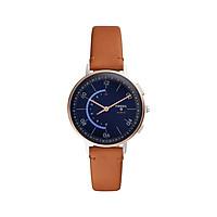 Đồng hồ thông minh nữ Fossil Hybrid Smartwatch Harper dây da FTW5027 - màu nâu - Hàng chính hãng