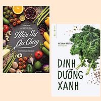 Combo Nấu Ăn Khoa Học và An Toàn Cho Sức Khỏe: Dinh Dưỡng Xanh + Khởi Sự Ăn Chay (hãy bảo vệ sức khỏe gia đình và bản thân)