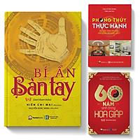 Sách - Combo 3 cuốn: Bí ẩn bàn tay + 60 năm sinh trong hoa giáp + Phong thủy thực hành trong đời sống KD