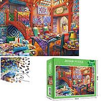 Bộ Tranh Ghép Xếp Hình 1000 Pcs Jigsaw Puzzle (Tranh ghép 70*50cm) Cửa Hàng Chăn Bông Bản Thú Vị Cao Cấp
