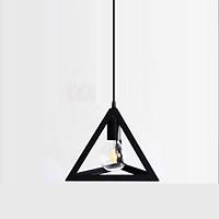 Đèn thả khối tam giác khung sắt sơn tĩnh điện - Tặng kèm bóng LED
