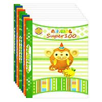 Lốc 10 Quyển Tập Super 100 4 Ô Ly Hòa Bình (96 Trang)