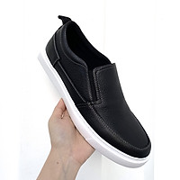 Giày Lười Nam Da Bò Thật 100% - Slip-On Da Nam Tefoss HN747
