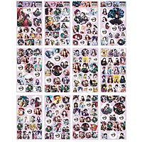 Ảnh dán Sticker KIMETSU NO YAIBA in hình anime chibi quà tặng trang trí dễ thương (12 tấm)