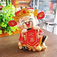 Tượng chibi Thần Tài 14cm - mẫu Phát Tài Phát Lộc