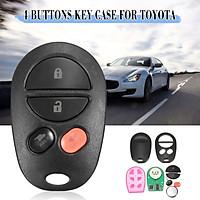 4 Botton Keyless Entry Remote Key Fob Transmitter for Toyota Highlander Sienna