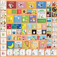 Full Combo 79 Cuốn ehon Nhật Bản cho bé phát triển toàn diện não bộ, nhận thức, tư duy, sáng tạo