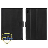 Bao da Hanman dành cho Samsung Tab S7 FE (T730/T736) dạng ví có ngăn đựng thẻ, đựng tiền, quai gập - Hàng nhập khẩu