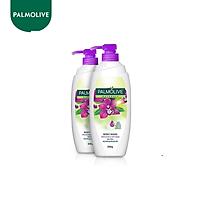 Bộ 2 Sữa tắm Palmolive mịn màng quyến rũ 100% chiết xuất từ phong lan 500g