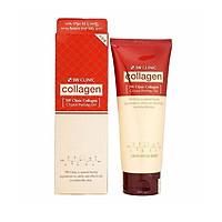 Tẩy Tế Bào Chết 3W Clinic Collagen Crystal Peeling Gel 180ml tặng 3 mặt nạ Jant Blanc