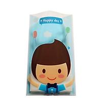 10 túi quà đựng bánh kẹo Happy day in hình bé